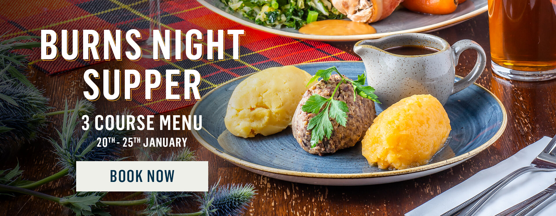 Burns Night at Nicholson's
