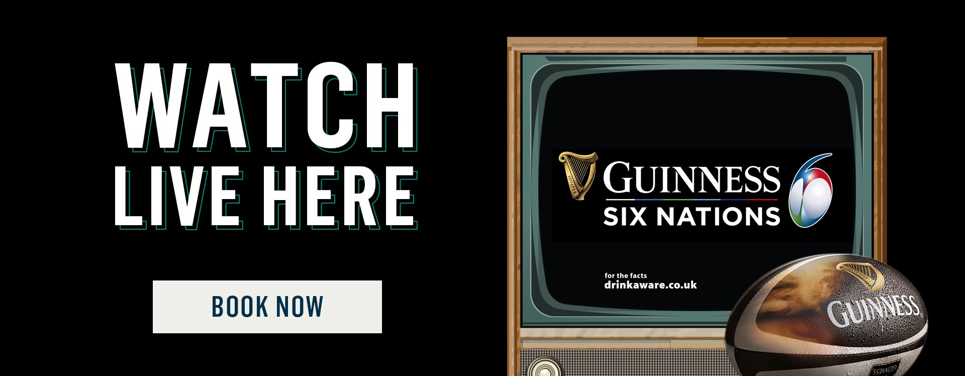 Six Nations 2019 shown live at Nicholson's!