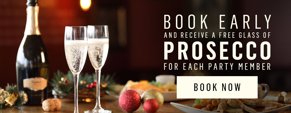 Book now for Christmas at Doggett's Coat and Badge