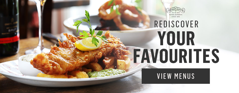 Rediscover your favourites at The Railway Tavern