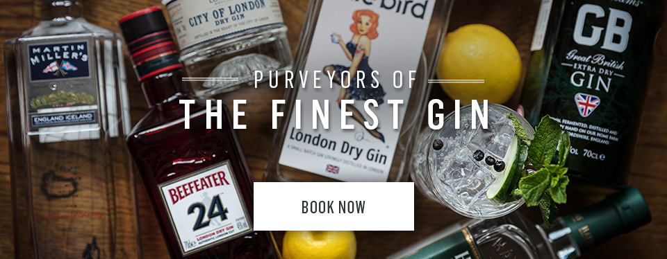 Nicholson's are purveyors of the finest gin