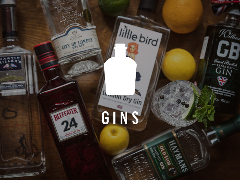 View our gin library