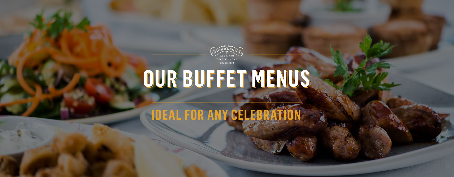 Buffet menu at The Victoria Comet - Book a table