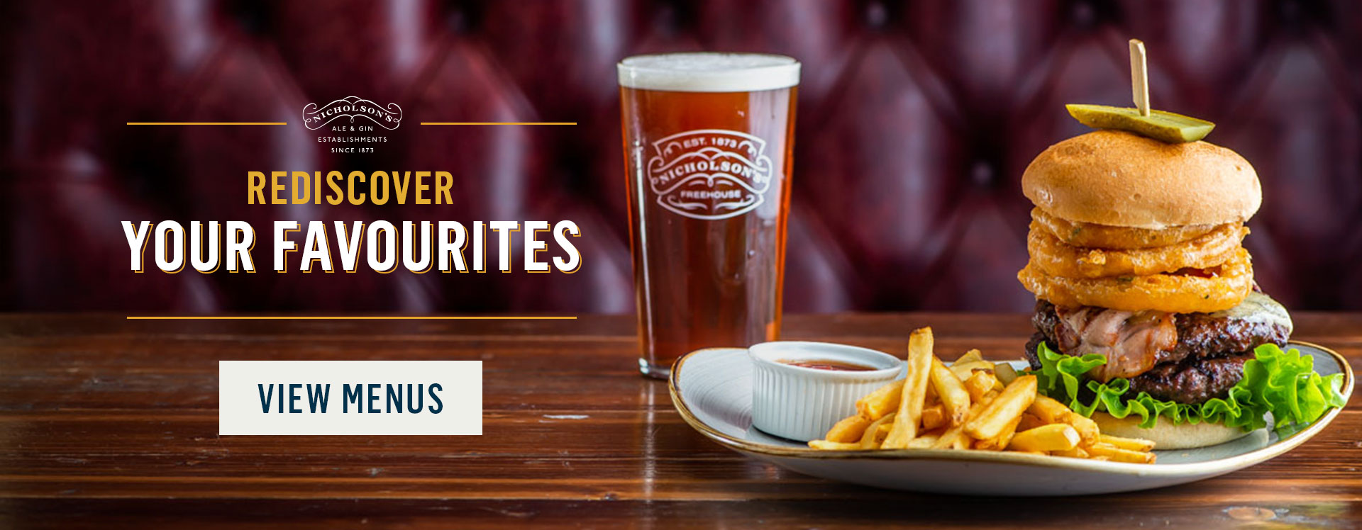 Rediscover your favourites at The Crown Liquor Saloon