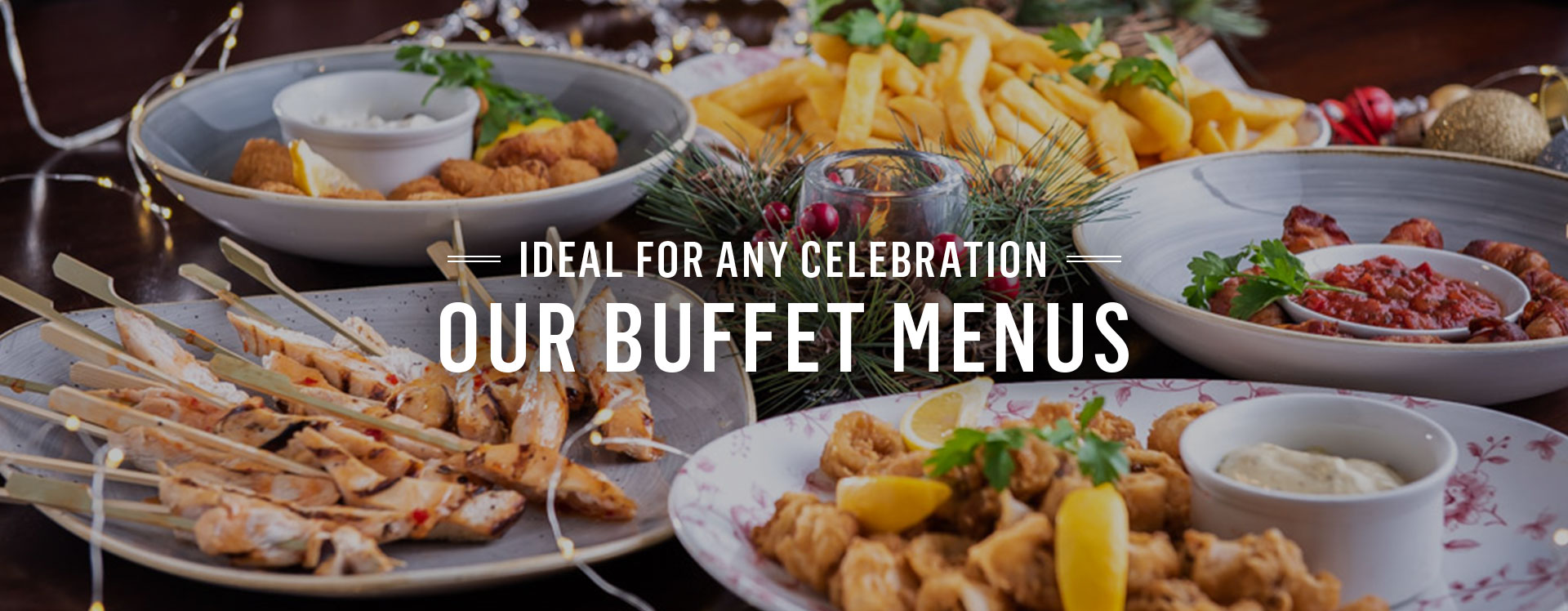 Buffet and Drinks Packages at Nicholson's