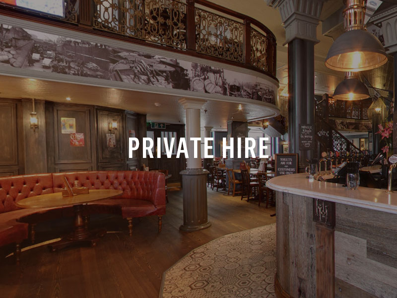 Private hire for Events