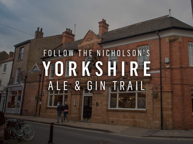 Follow the Nicholson's Yorkshire Ale trail
