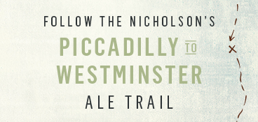 Piccadilly to Westminster Ale Trail
