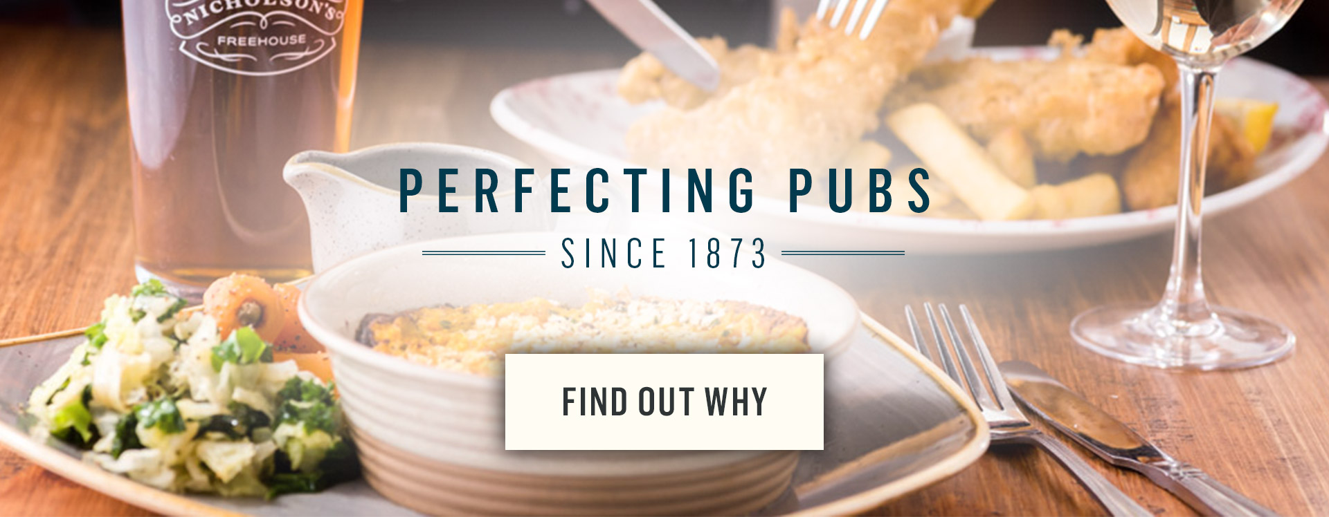 Perfecting pubs since 1873