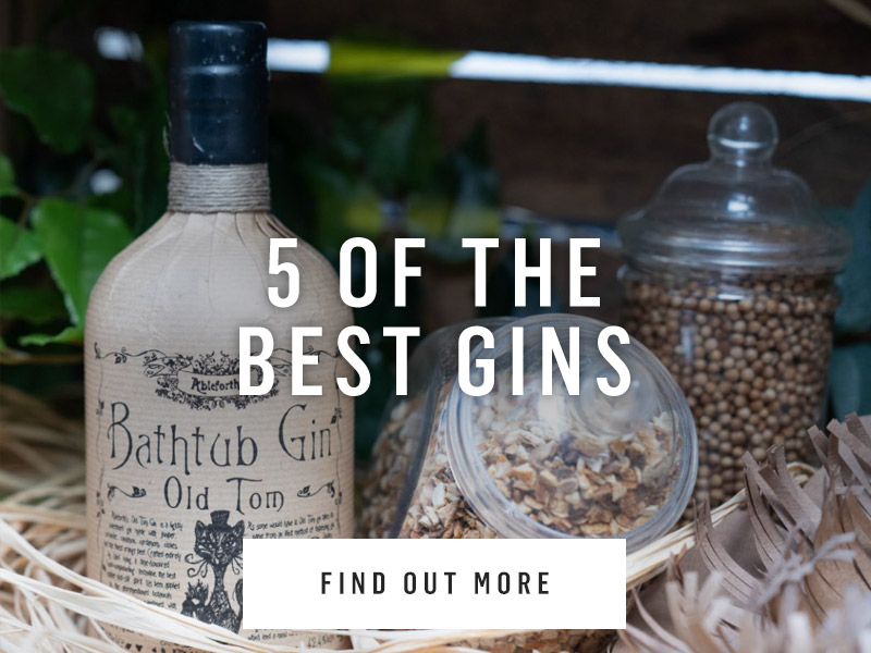 5 of the best gins at Nicholson's