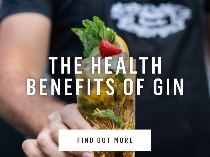 Health benefits of gin