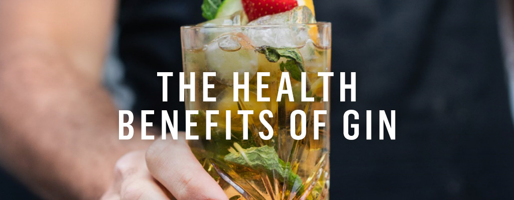 The health benefits of drinking gin