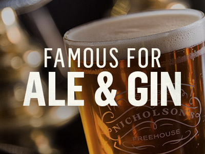 Famous for Ale & Gin