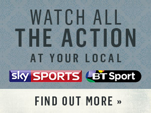 Watch all the action at The Railway Tavern