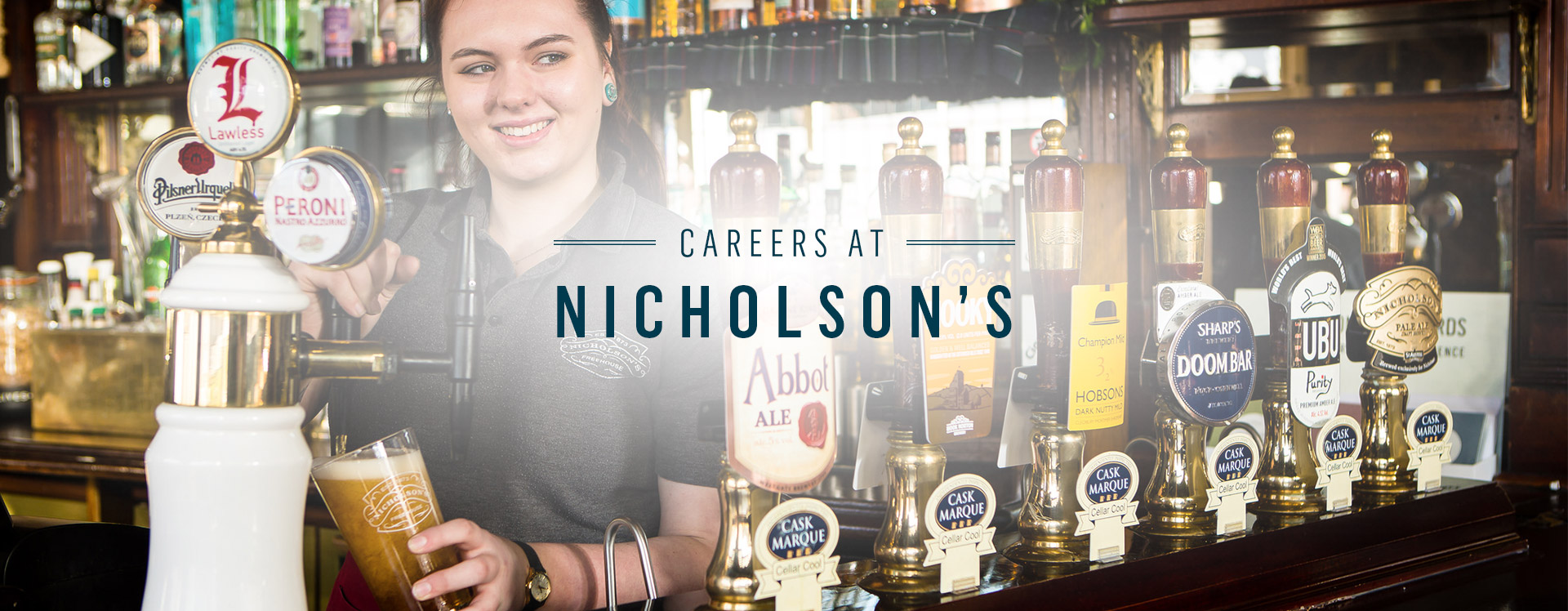 Nicholson's Jobs at Your Local Nicholson's Pubs