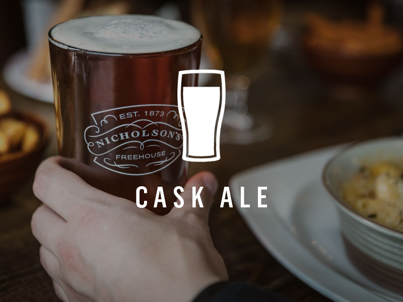 Famous for our cask ale - see our library