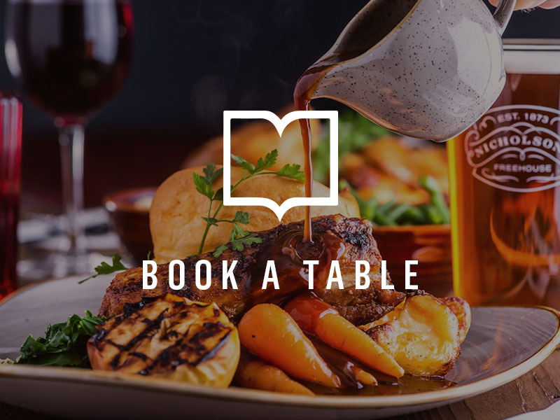 Book a table at The Old White Swan