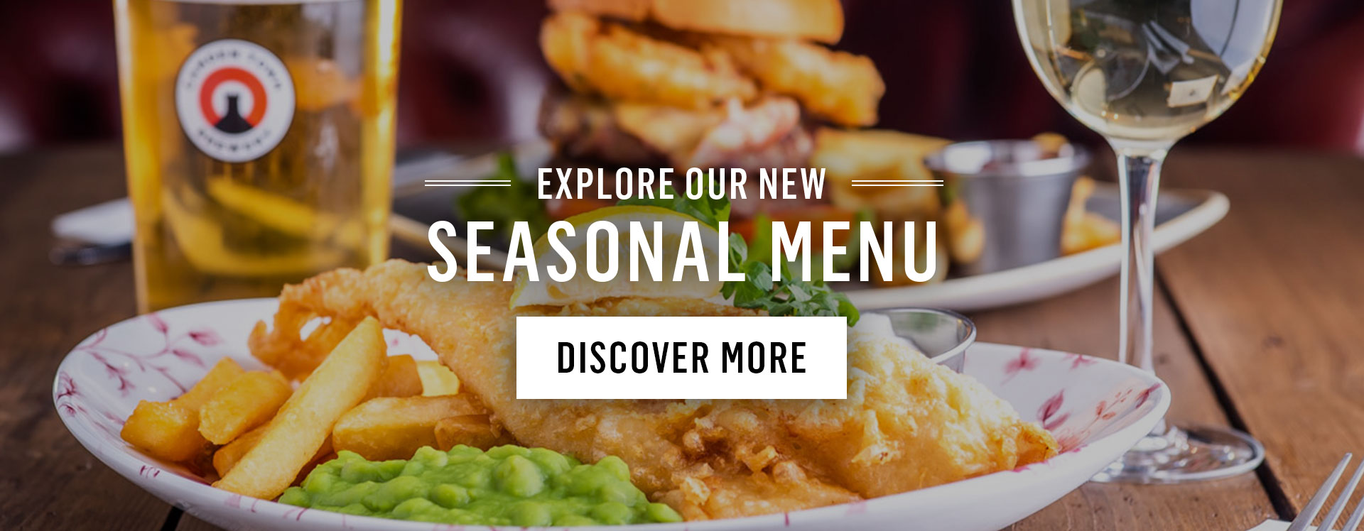 New Menu at The Conan Doyle
