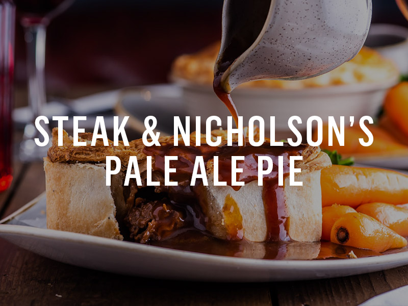 Nicholson's Steak Pie