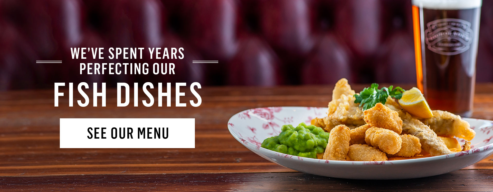 Speciality Menus at The Chequers