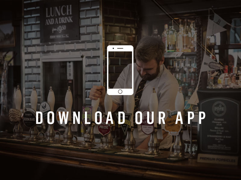 Download the Nicholson's Pubs app for exclusive rewards