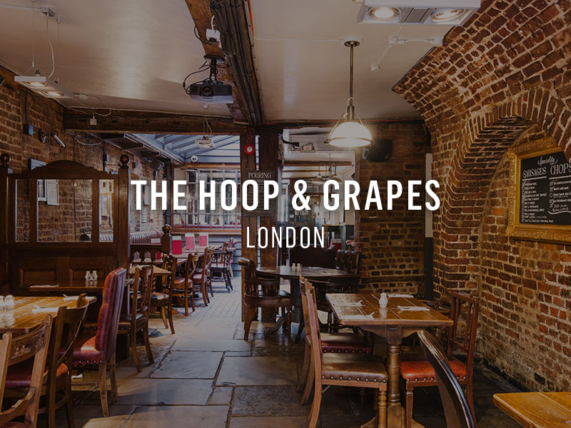 The Hoop & Grapes, London