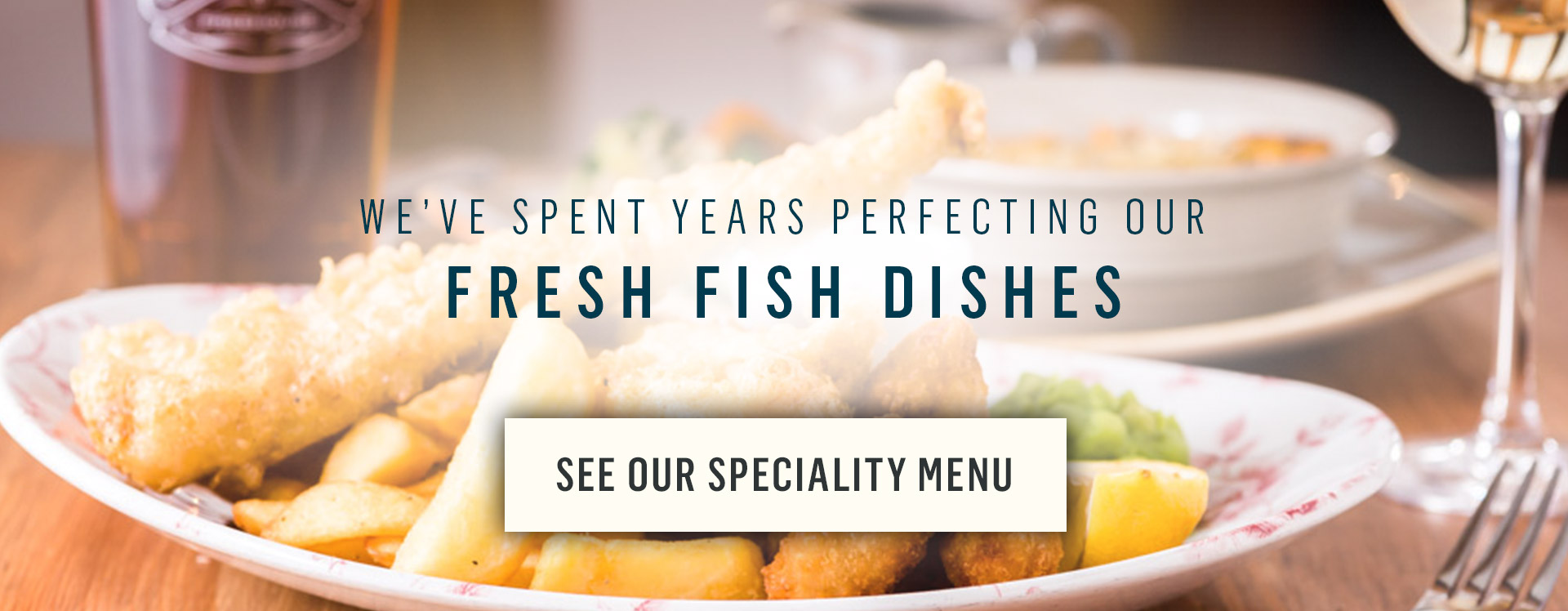 Speciality Menus at The White Swan