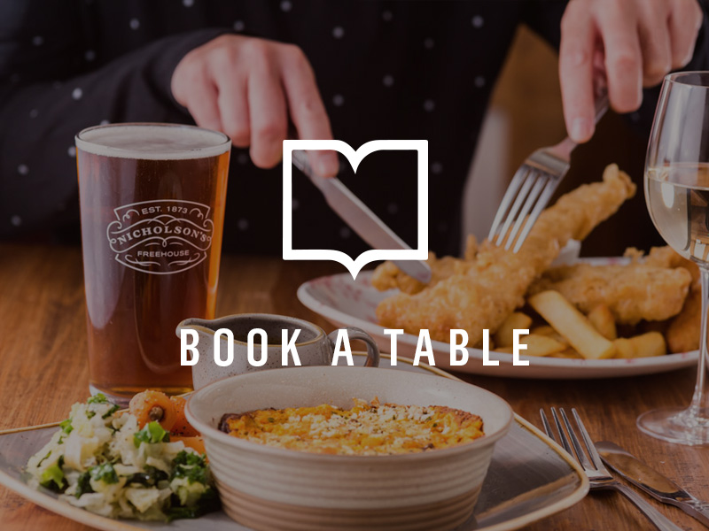 Book a table at The Feathers