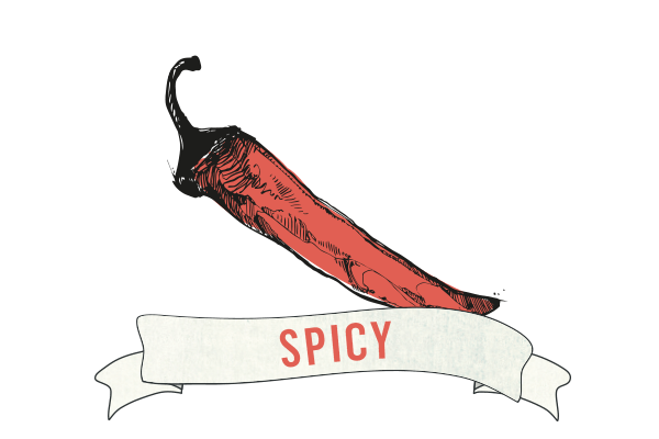 Spicy flavour