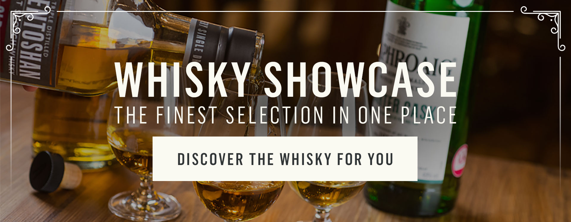 Whisky Showcase at The Crown Liquor Saloon in Belfast