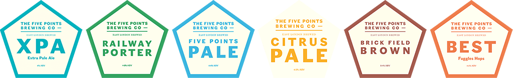 Five Points Brewing ales