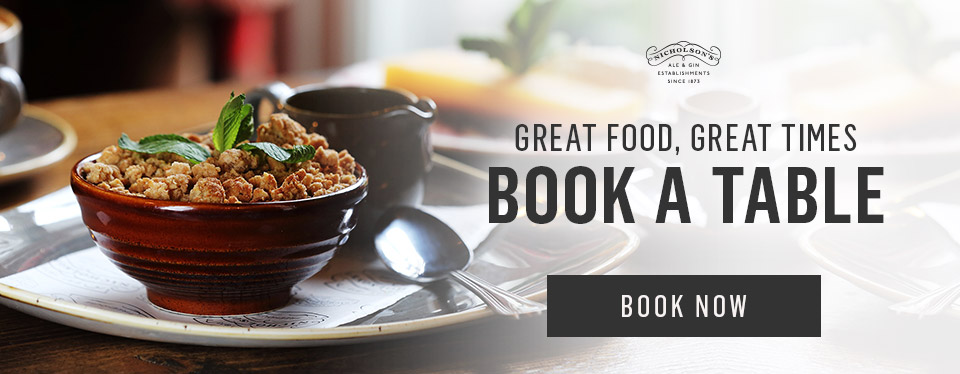 Book now at The Crooked Billet