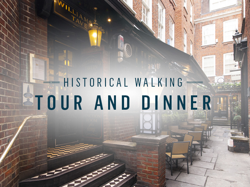 Historical Walking Tour at Williamson's Tavern