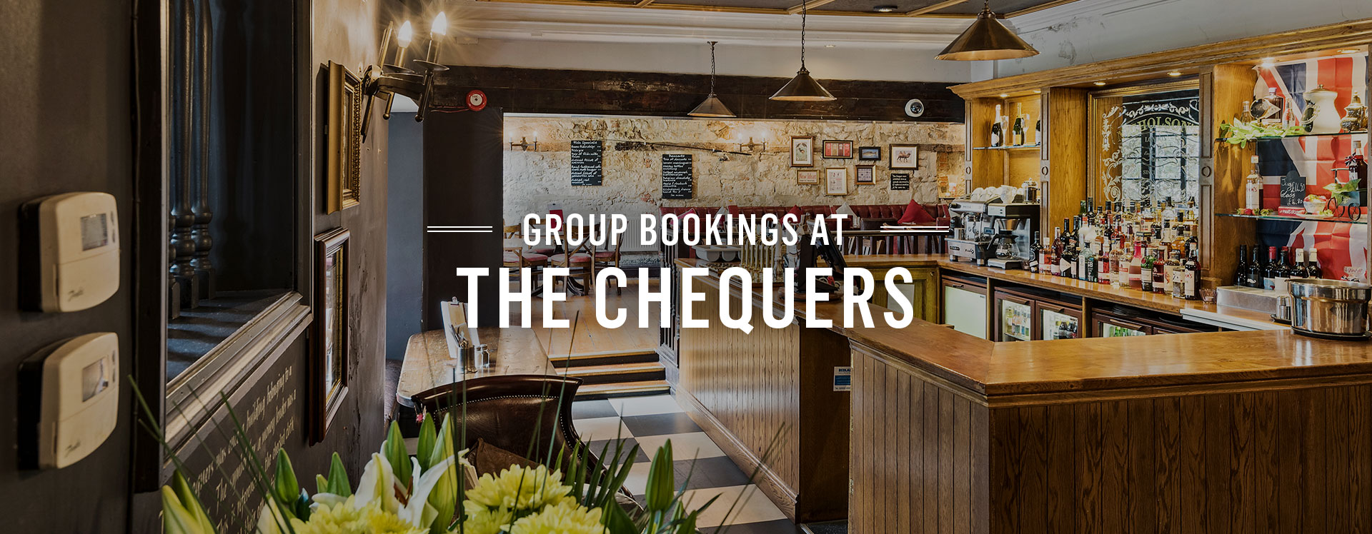 Group Bookings at The Chequers