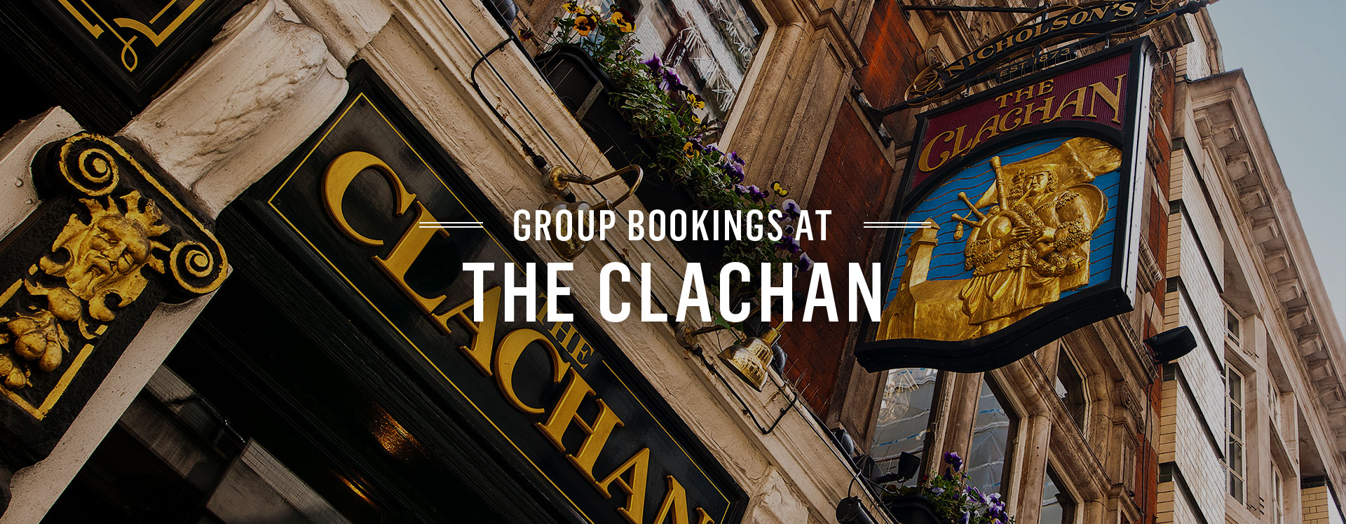 Group Bookings at The Clachan