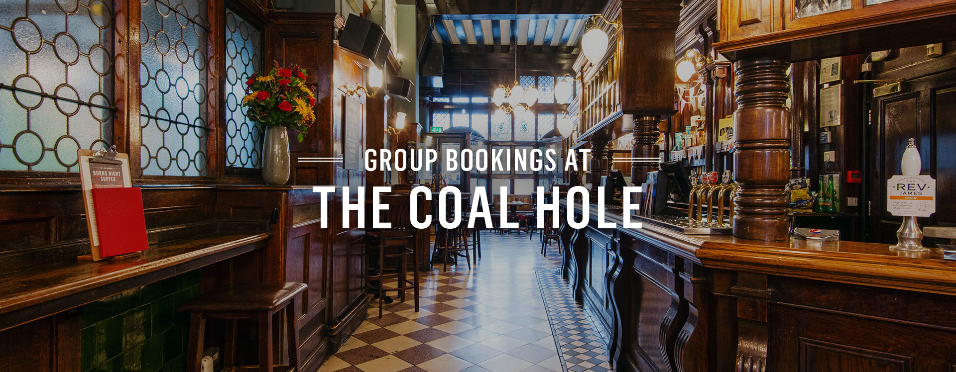 Group Bookings at The Coal Hole