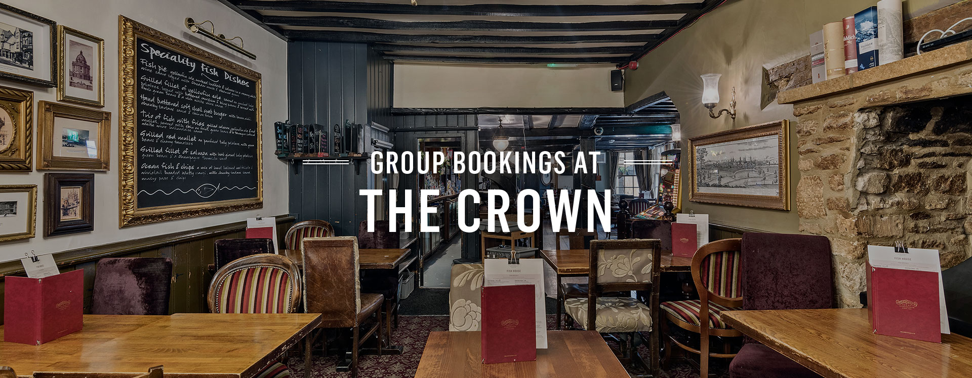 Group Bookings at The Crown