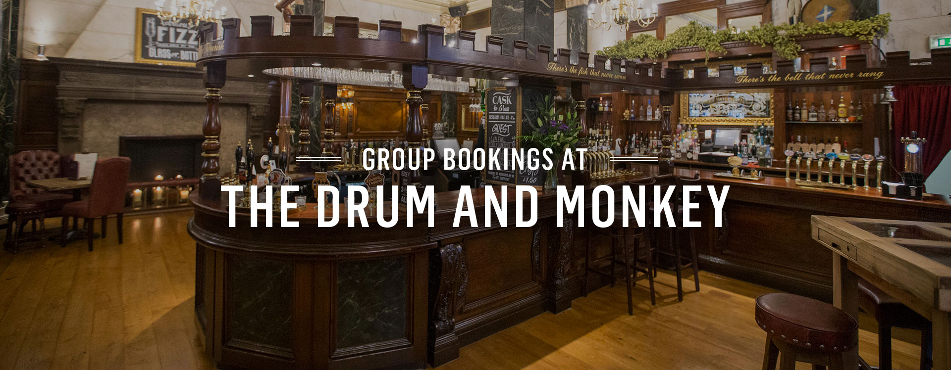 Group Bookings at The Drum and Monkey