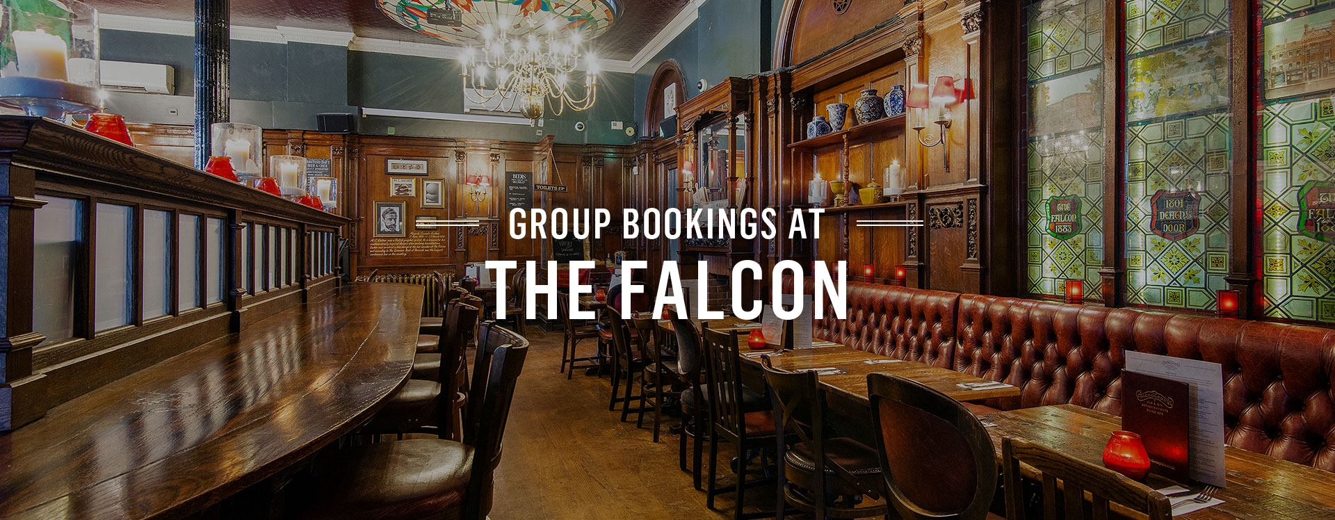 Group Bookings at The Falcon