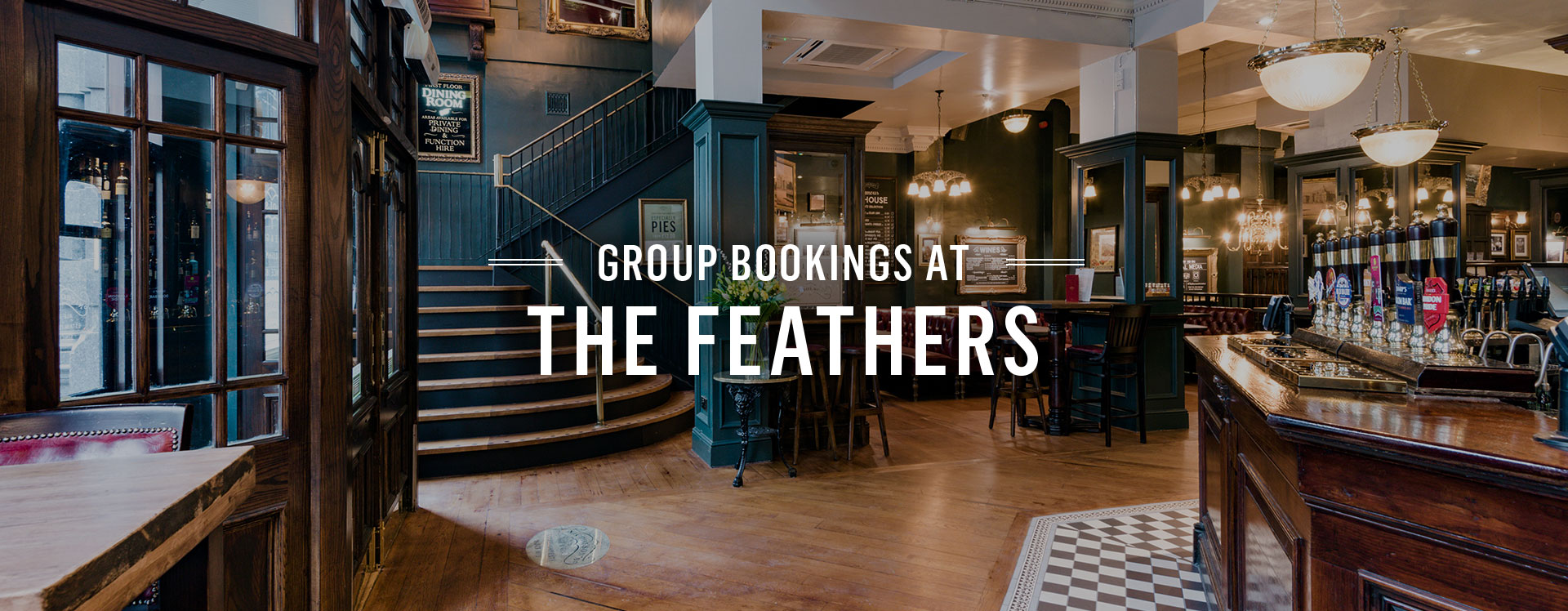 Group Bookings at The Feathers