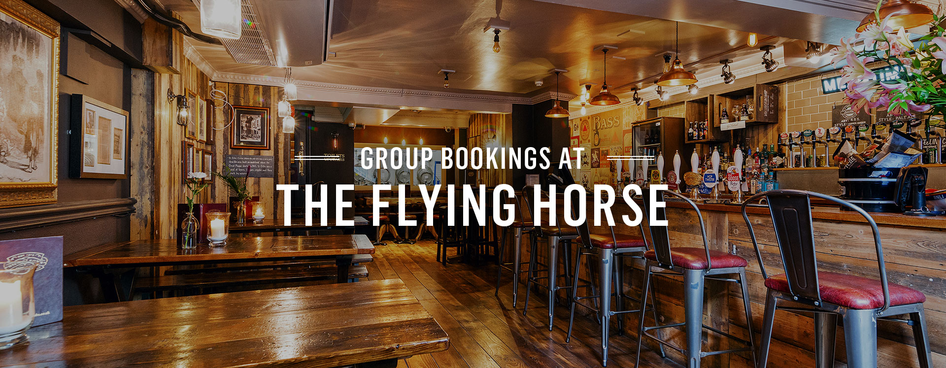 Group Bookings at Flying Horse