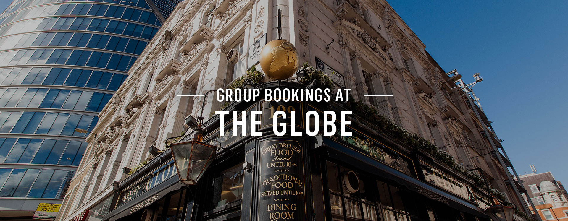 Group Bookings at The Globe