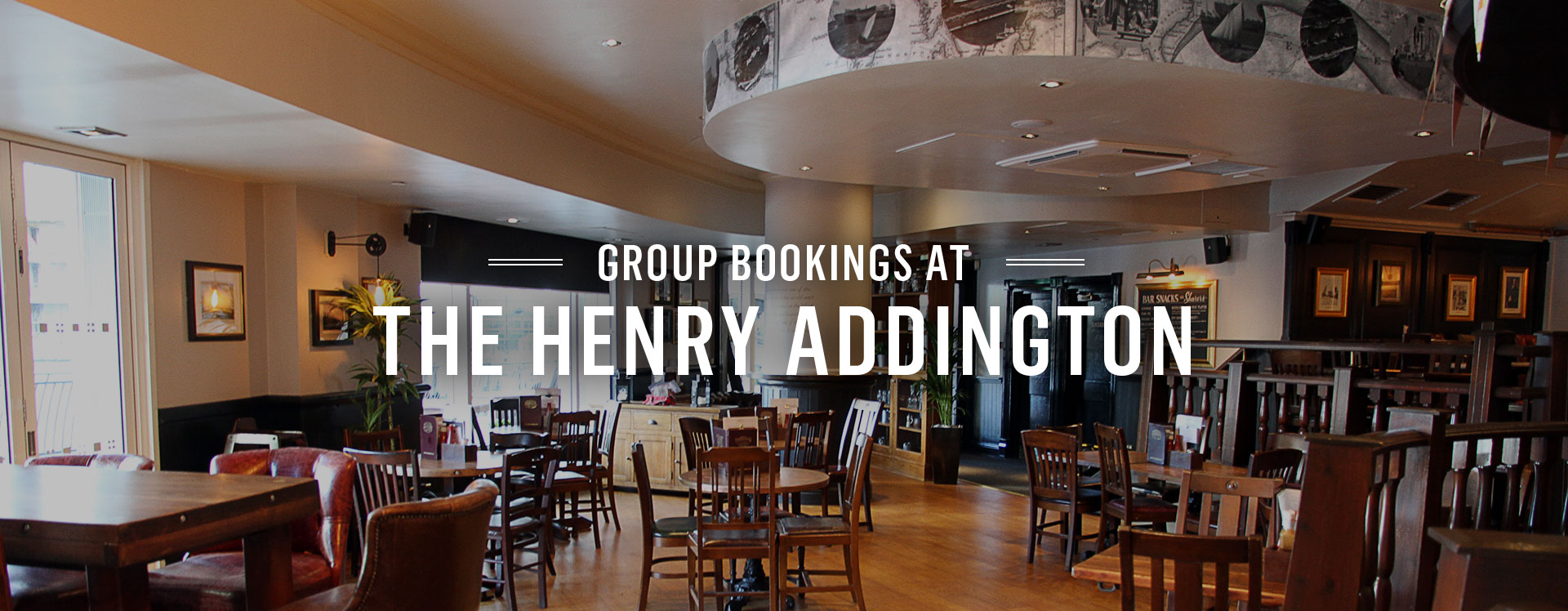 Group Bookings at The Henry Addington