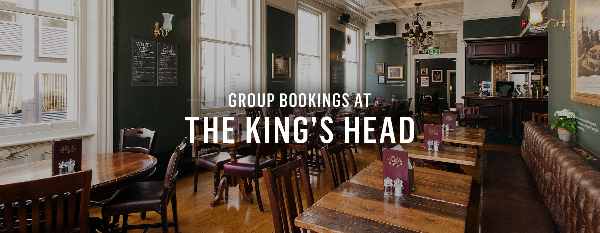 Group Bookings at The King's Head