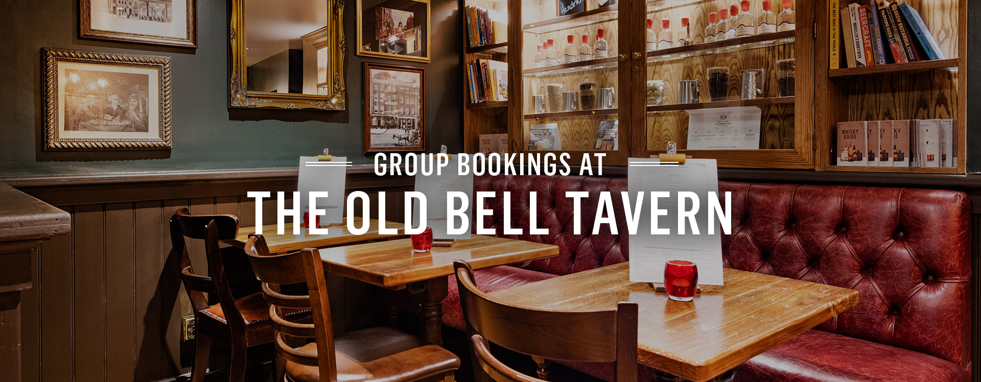 Group Bookings at The Old Bell Tavern