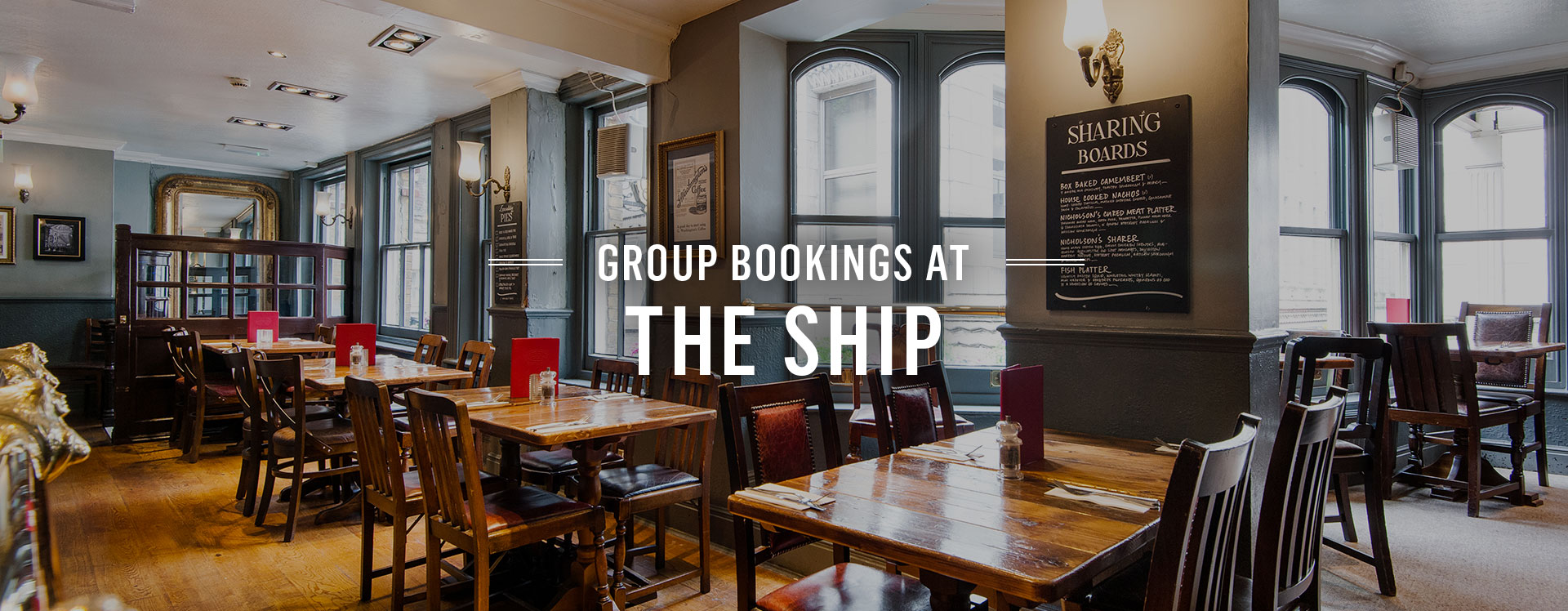 Group Bookings at The Ship