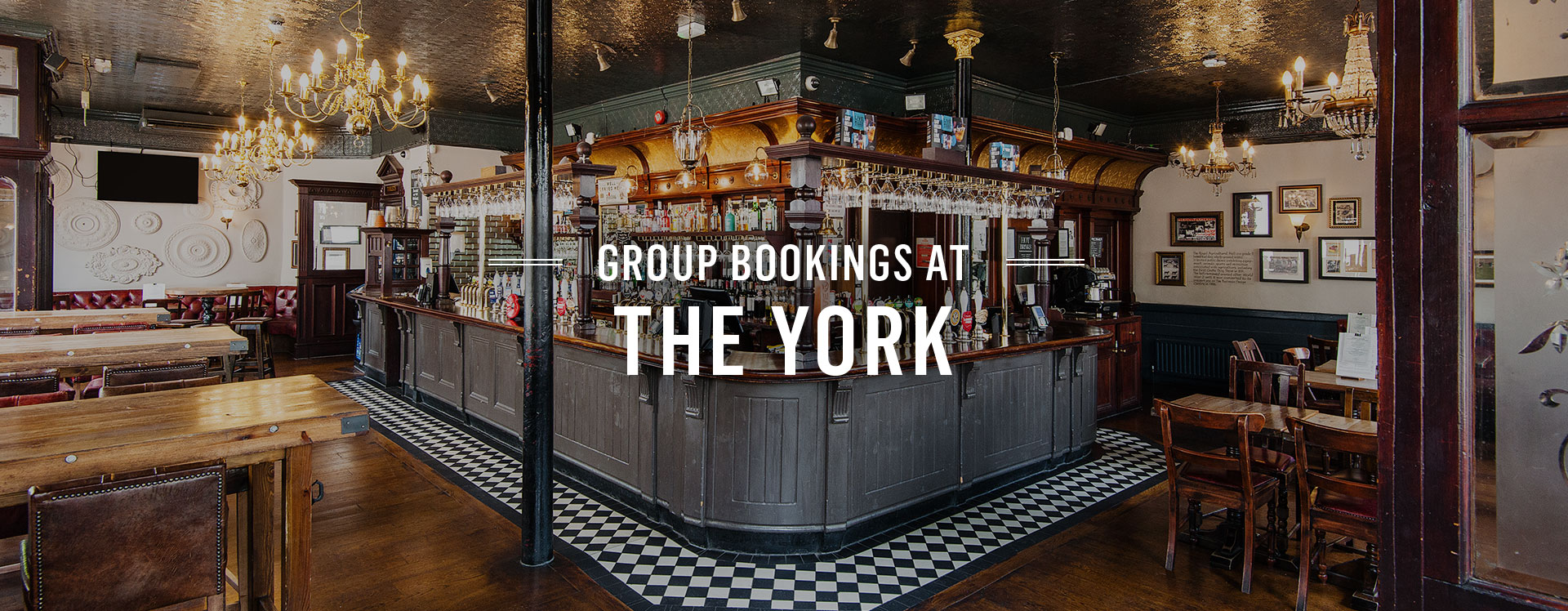 Group Bookings at The York