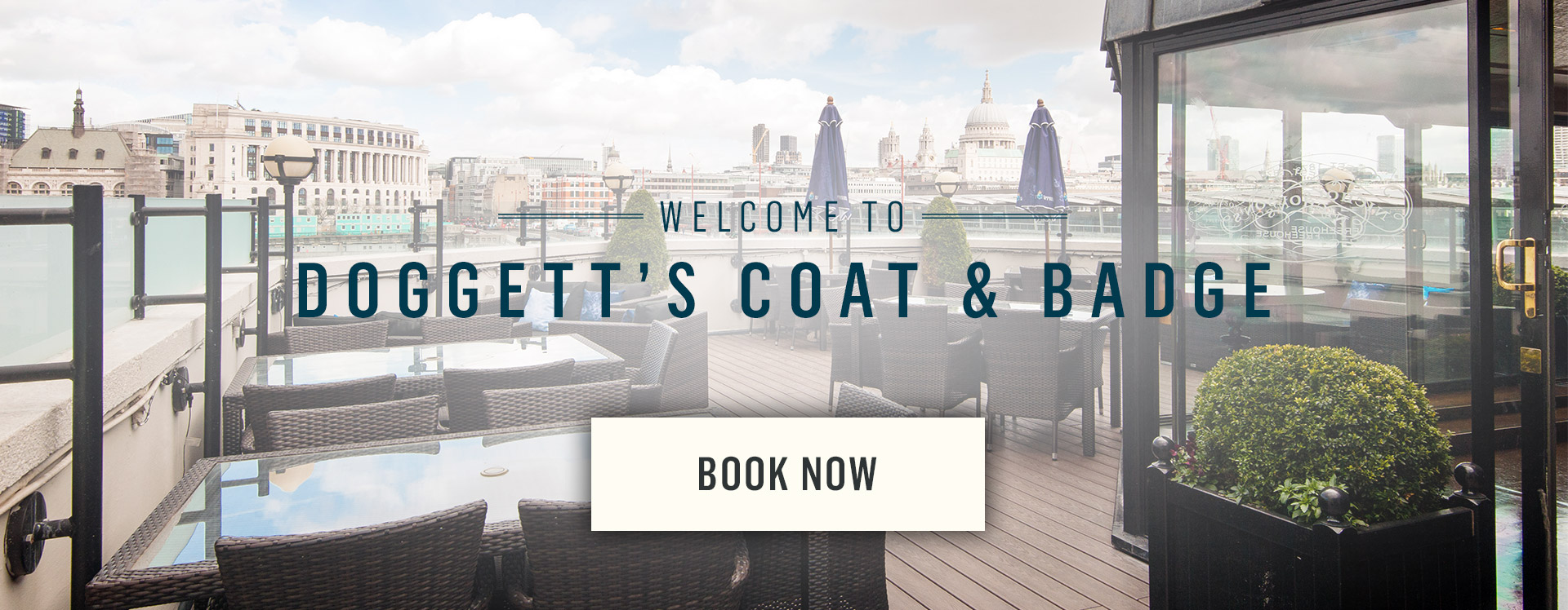 Welcome to Doggett's Coat and Badge - Book Now
