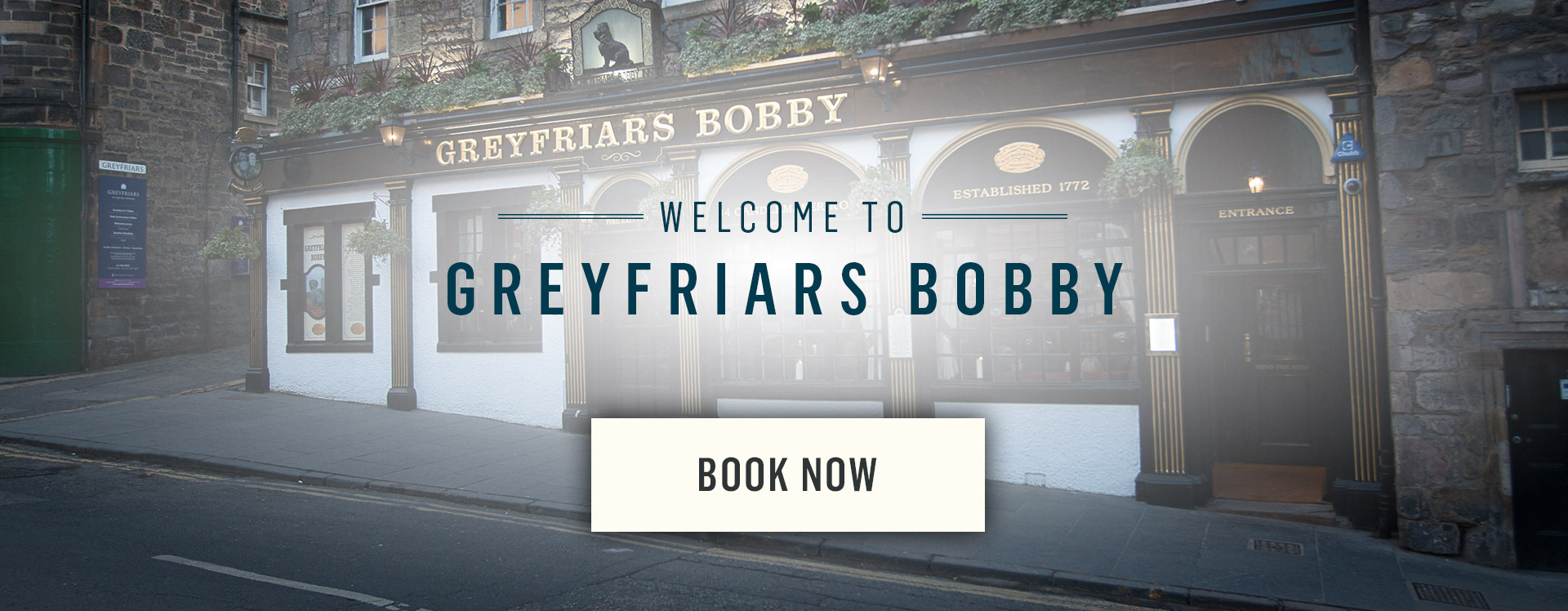 Welcome to Greyfriars Bobby's Bar - Book Now