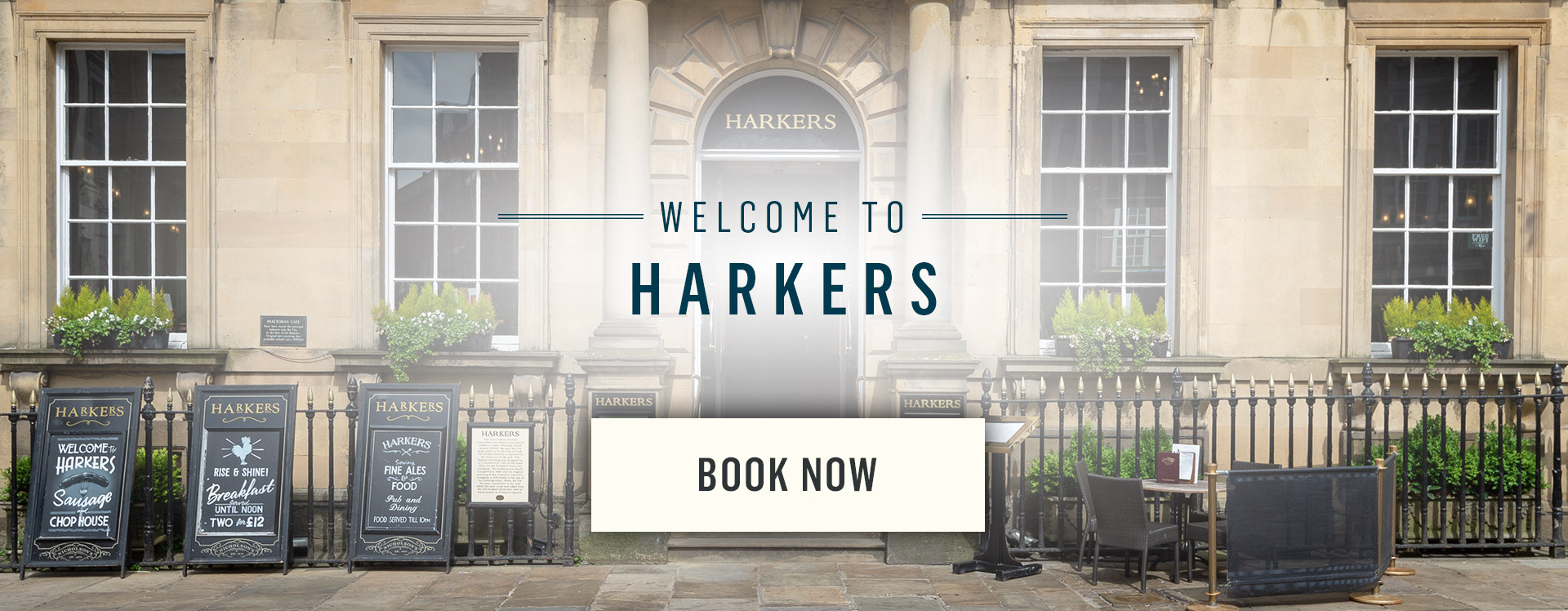 Welcome to Harkers - Book Now